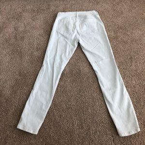 White loft jeans!!